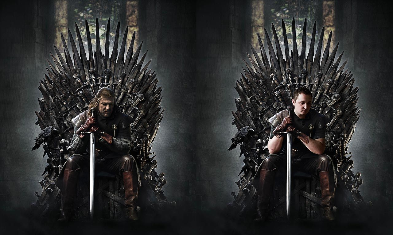 Game of Thrones photoshoot battle