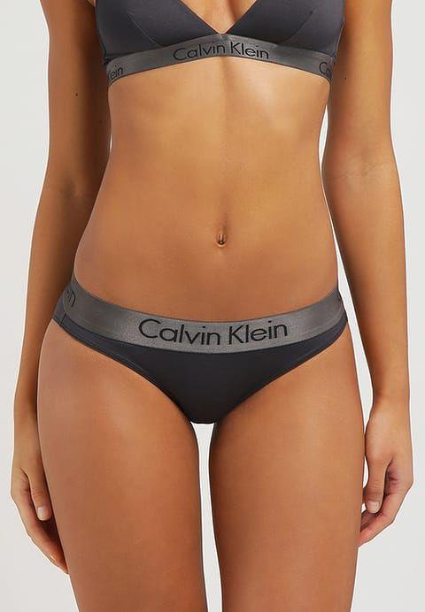 Luxe Calvin Klein Underwear DUAL TONE - Slip - black shadow grey noir   24,30 € chez Zalando (au 14 08 17). Livraison et retours gratuits et  service client ... 890c98f417f0