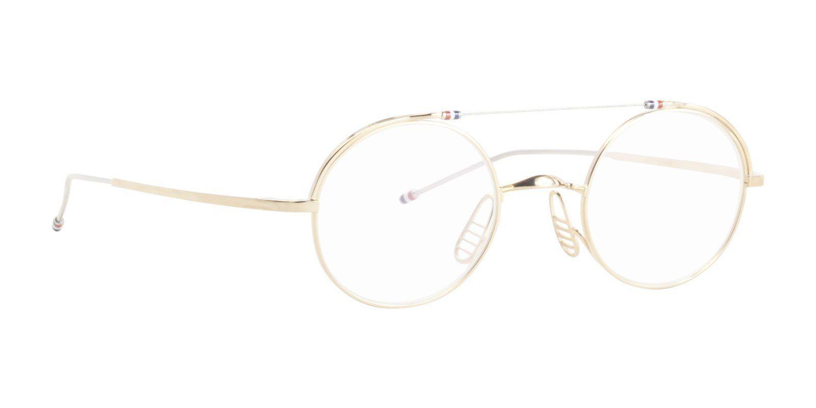 57daa77733c0 Thom Browne - TB-910 Silver White Gold-eyeglasses-Designer Eyes ...