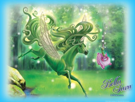 bella+sara+horses | Bella Sara Moonfairies 1 - horses, magic, animals, fantasy