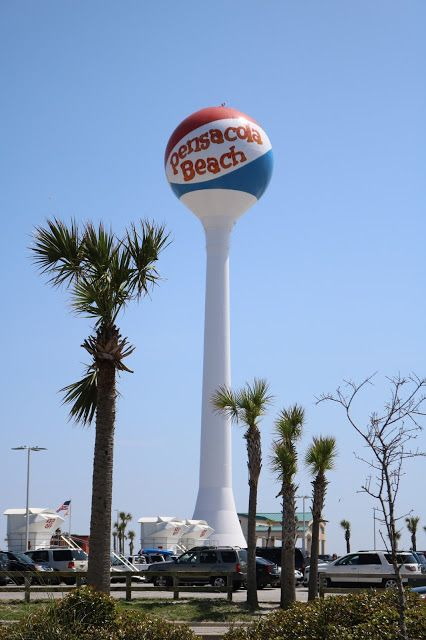 Panama City Beach Fl To New Orleans La Panama City Panama Panama City Beach Fl Water Tower