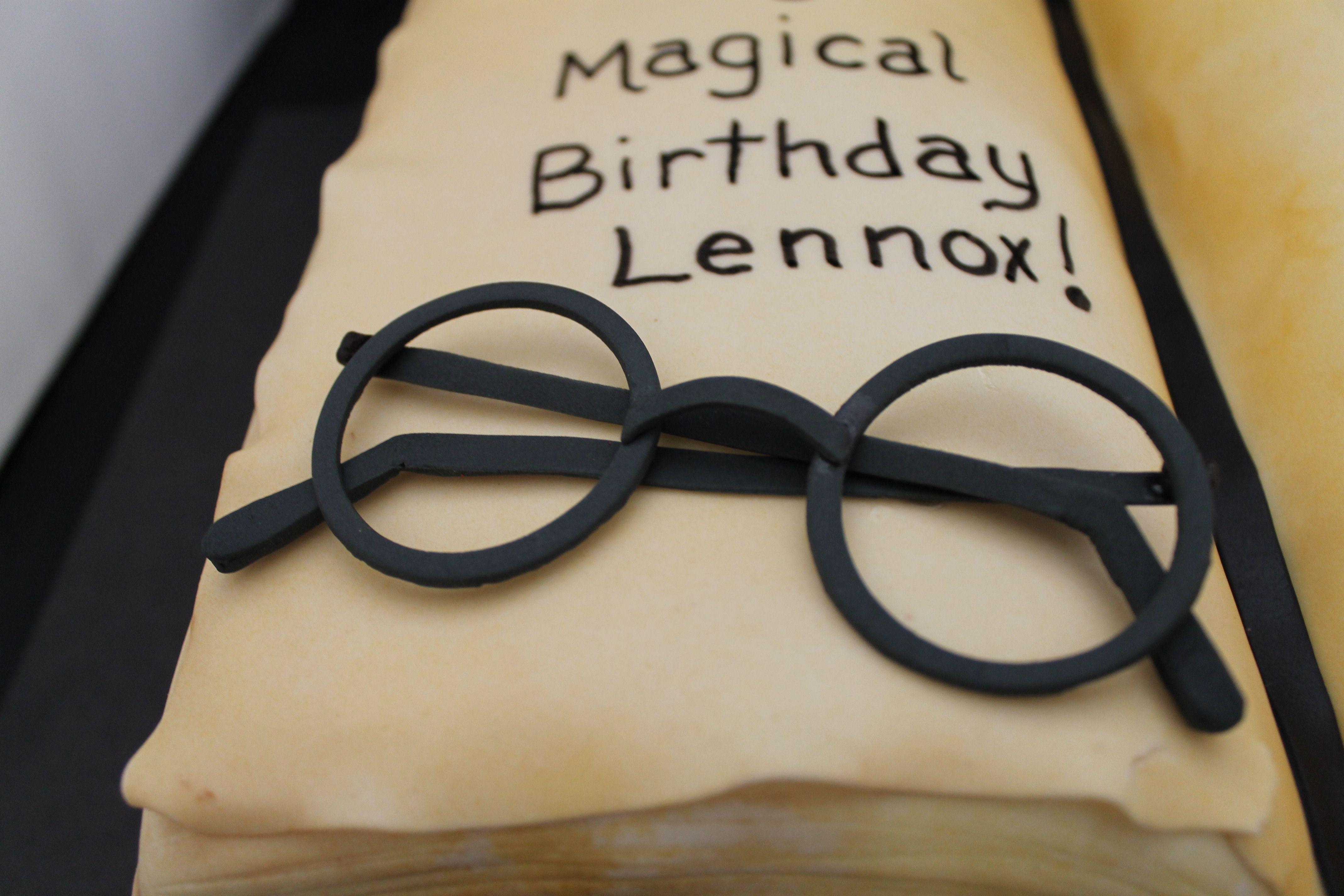 Fondant Harry Potter Glasses Harry Potter Brille Fondant Brille