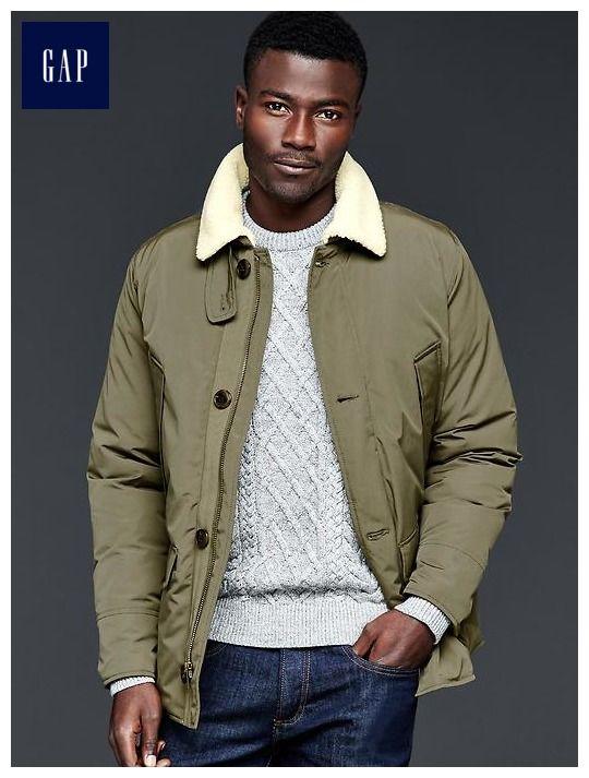 PrimaLoft&#174 sherpa puffer jacket   my boys?   Pinterest