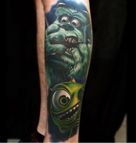 monster inc | tattoos | Pinterest | Monsters, Geek tattoos and ...