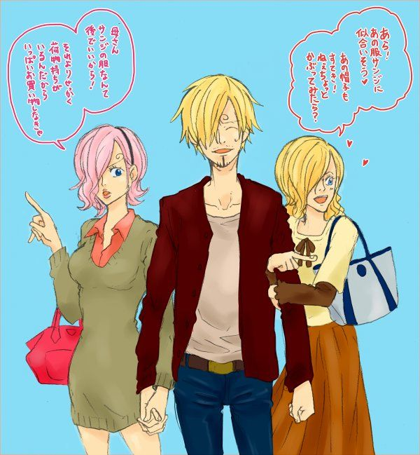 One Piece, Vinsmoke family, Reiju, Sanji, Sola