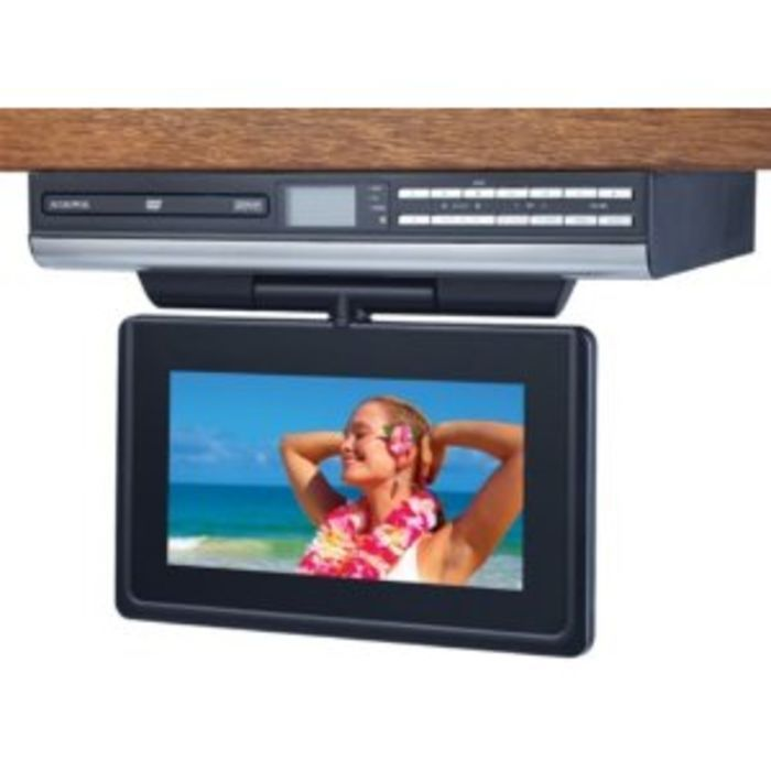 Best under cabinet tvs for kitchen tv dvd combo or tv radio combo-2015 reviews ...  sc 1 st  Pinterest & Best under cabinet tvs for kitchen tv dvd combo or tv radio combo ...