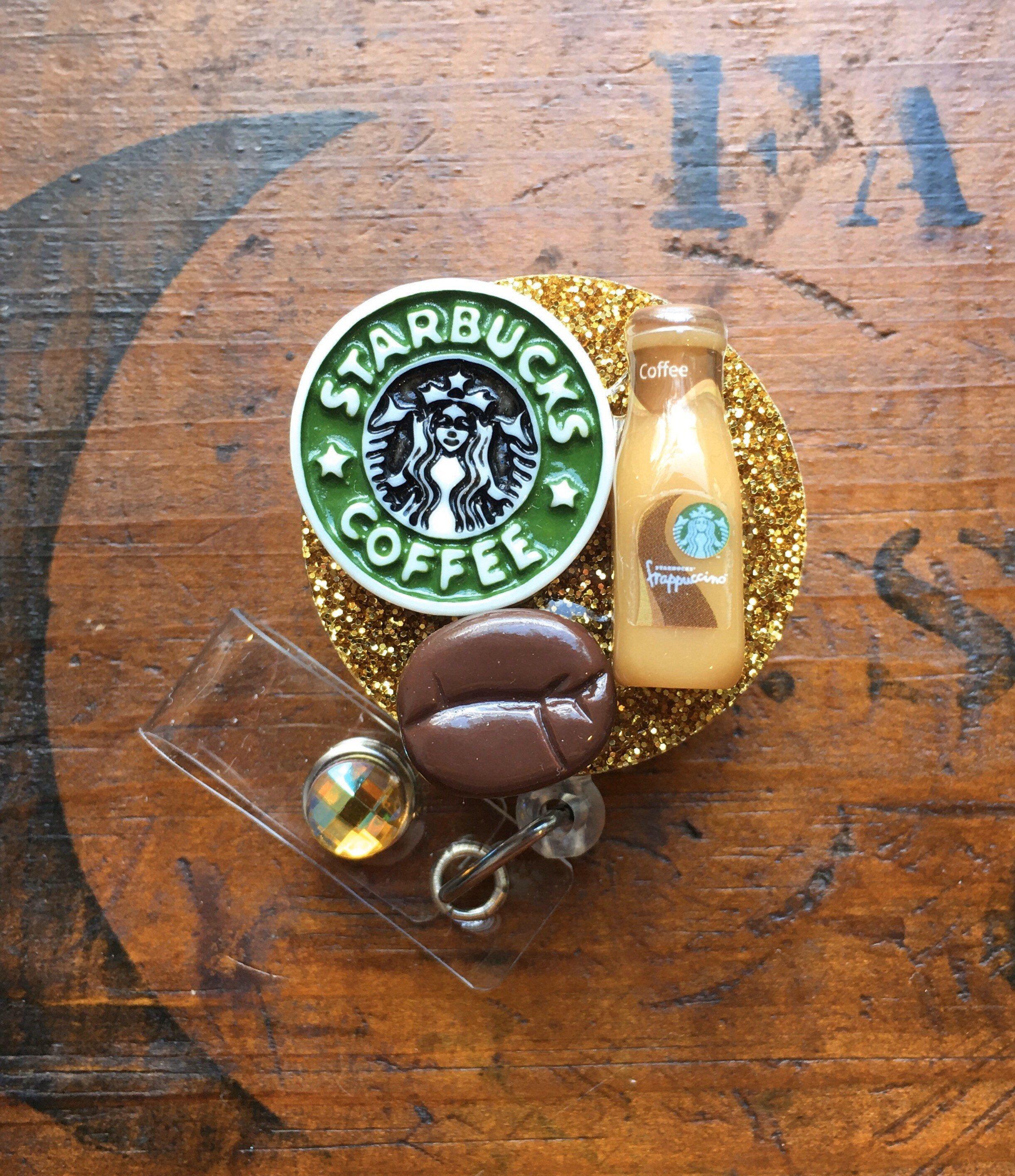 Coffee themed id badge reel in 2020 id badge id badge