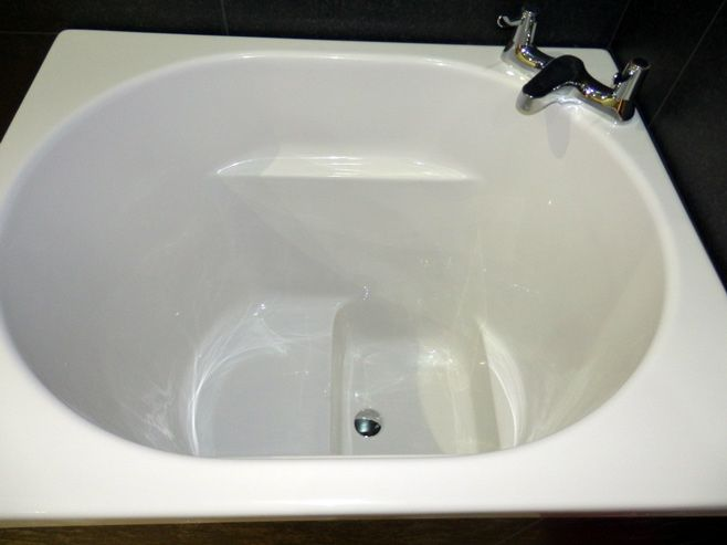 The AsagiBath - Compact Range Deep Soaking Bath