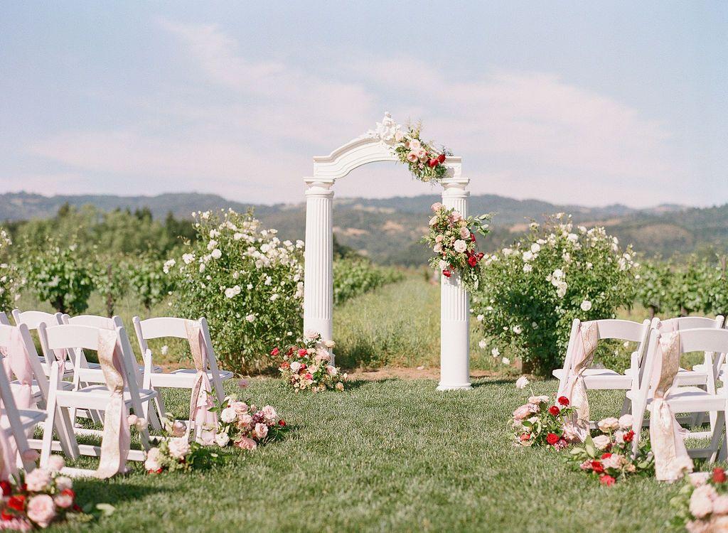 Collection Lux Rentals Wedding Rentals Decor Napa Valley Wedding Ceremony Spaces