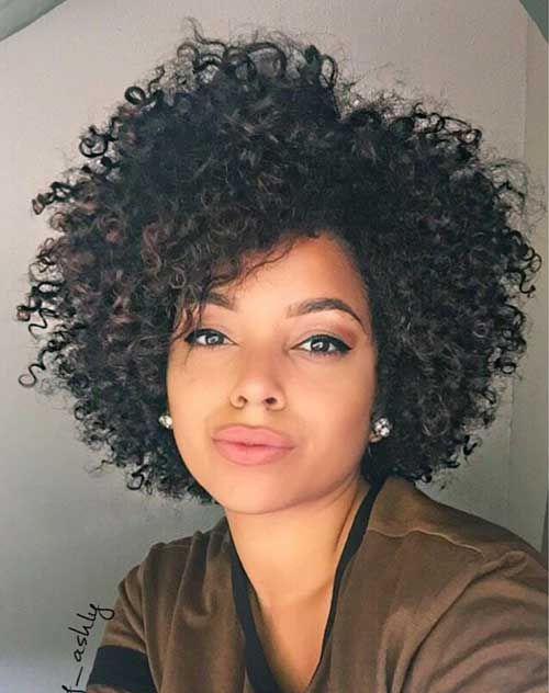 Very Pretty Short Curly Hairstyles You Will Love Curly