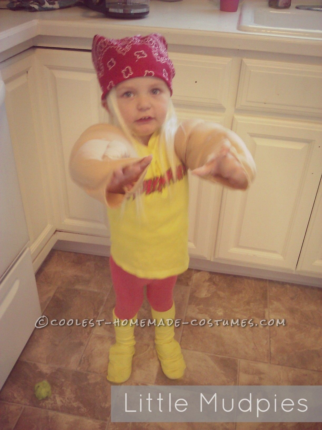 Coolest Hulk Hogan Costume for a 2 Year Old Boy Hulk