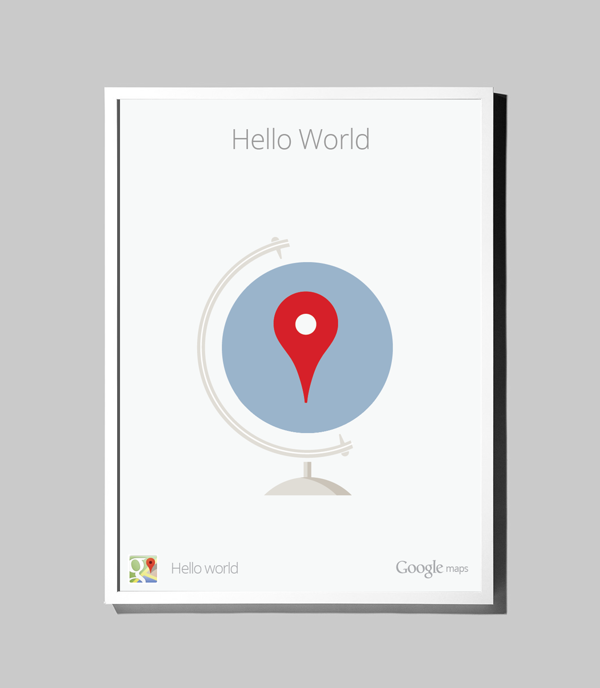 Cjwho google maps hello world matt delbridge print cjwho google maps hello world matt delbridge print gumiabroncs Gallery