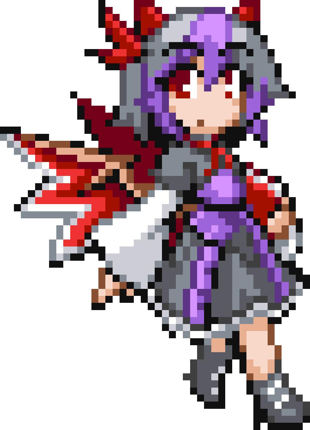 Pixelart Draw Anime Manga Colorbynumber Game Ninjapixel Pixel Art Anime Pixel Art Art Apps