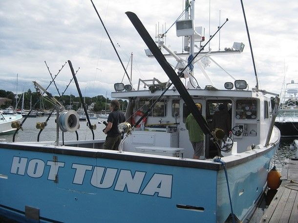 The boats of wicked tuna national geographic channel for Tuna fishing boat