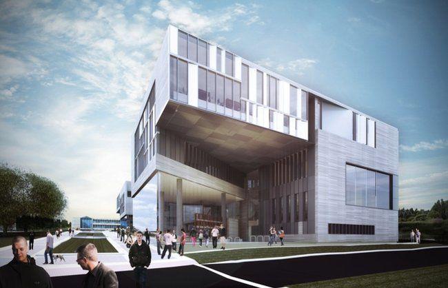 architecture building design. The WRL Proposal For KSU Architecture Building Was Only One In Which A Northeast Design F