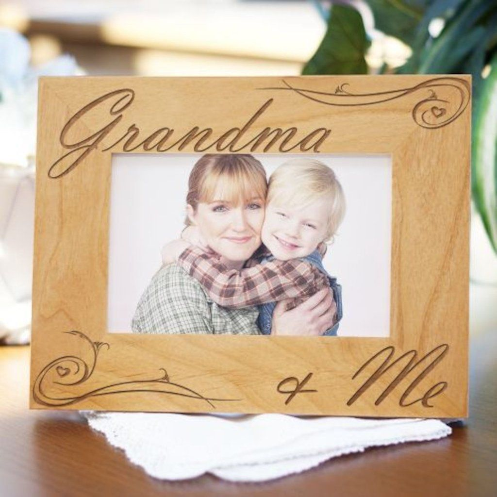 Personalized Grandma and Me Picture Frame - Gifts Happen Here