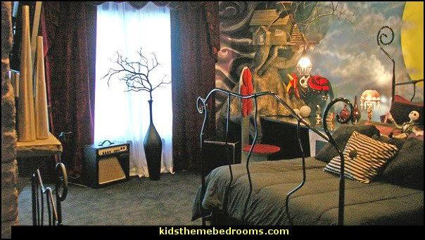 nightmare before christmas bedroom decorating - Nightmare Before Christmas Bedroom Decor