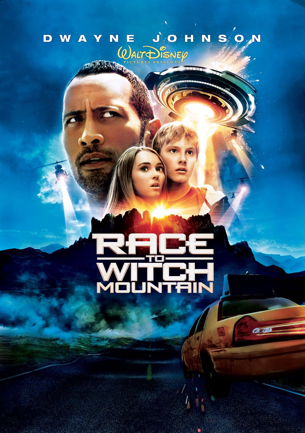 Movie Review Race to Witch Mountain Race to witch