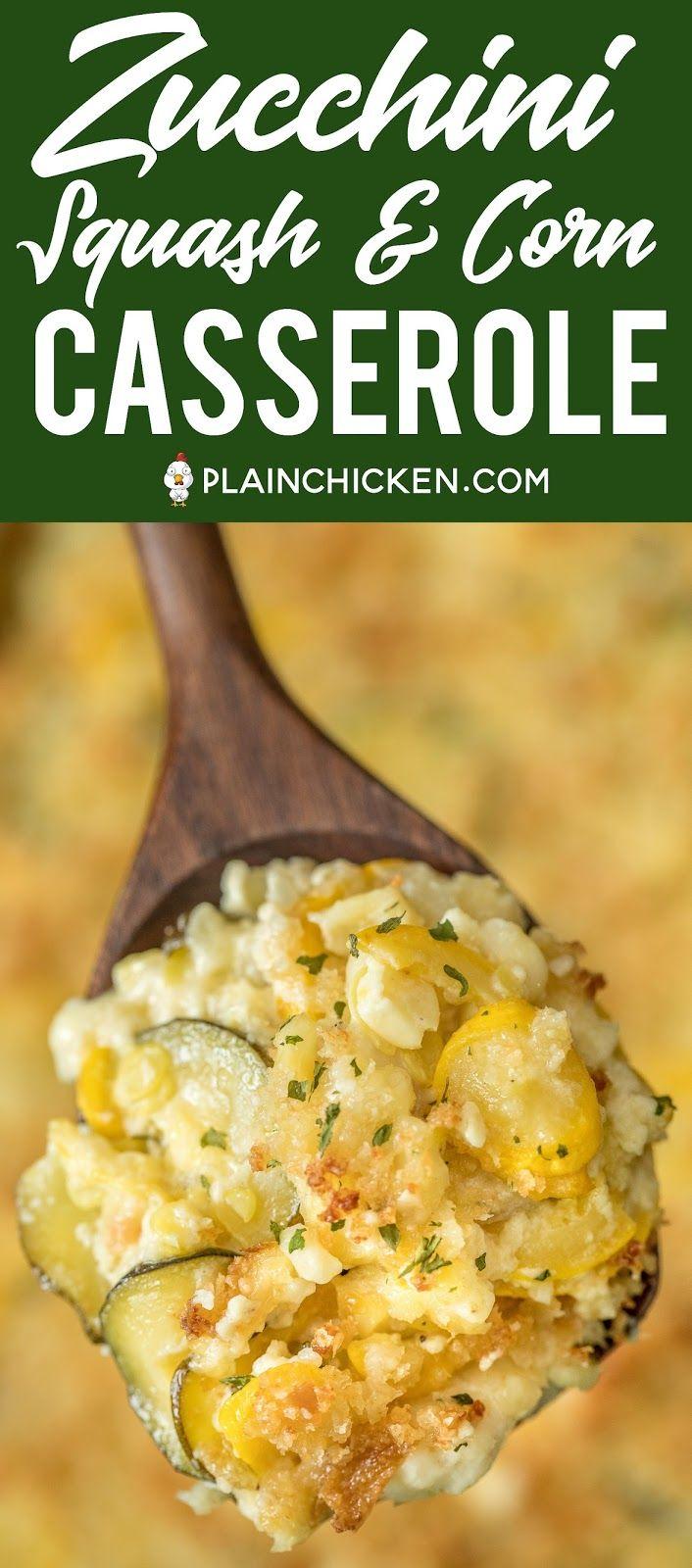 Photo of Zucchini, Squash & Corn Casserole
