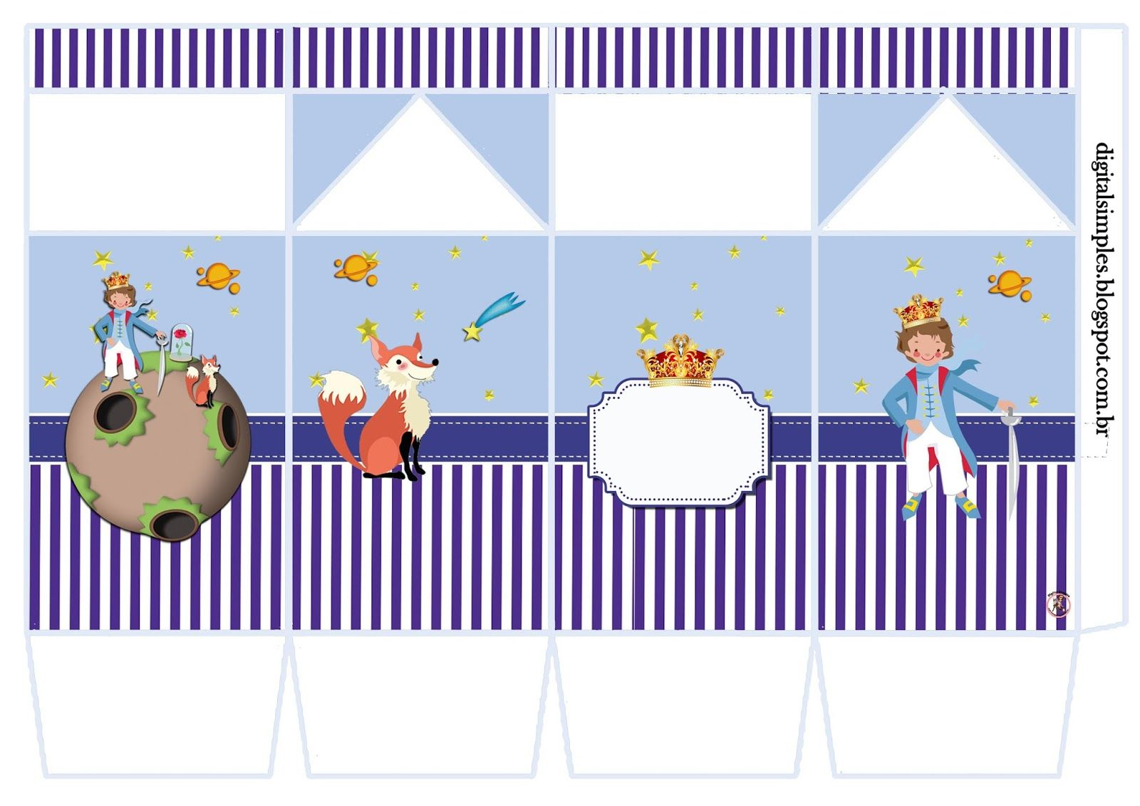 Kit Aniversario Personalizado Tema Pequeno Principe Festa