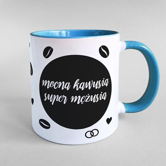 Mocna Kawusia Super Mezusia Kubek Pakamera Pl Glassware Mugs Tableware