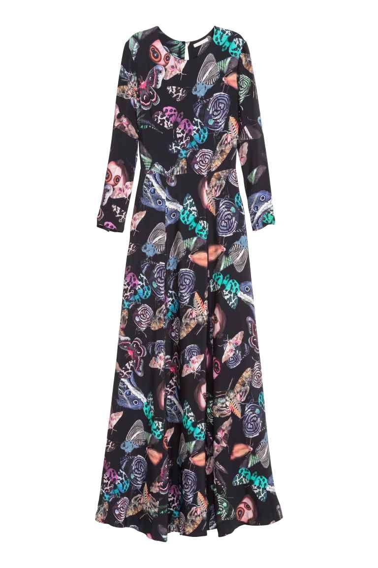 fdb0c6f437291d Wzorzysta sukienka maxi, H&M 499,90 zł   PRINT ATTACK   Sukienka ...