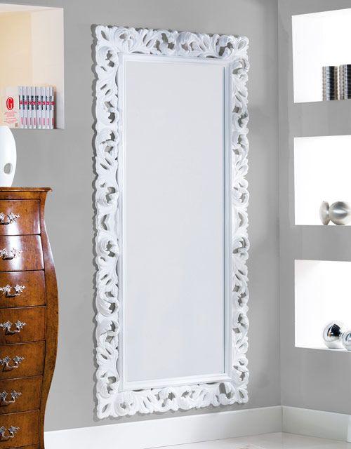 Specchiera bianca lucida L. 107 P. 5 H. 207 | camere ragazzi | Pinterest