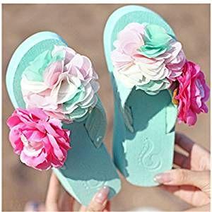 185d1d648935 KAKA(TM) Women s Fashion Rhinestone Glitter Studded Crystal Thong Sandals  Flip Flops Heavy-