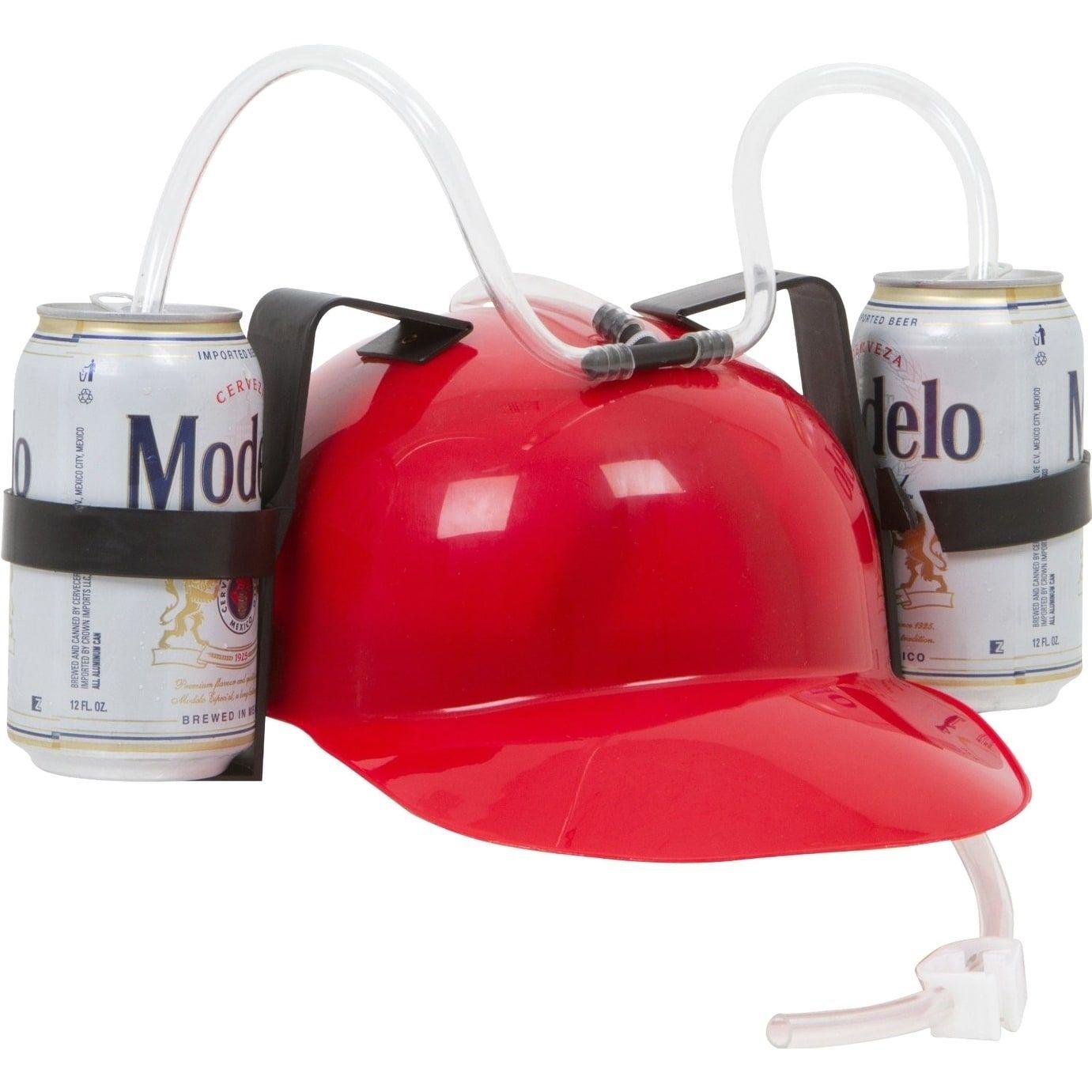 Beer & Soda Guzzler Helmet