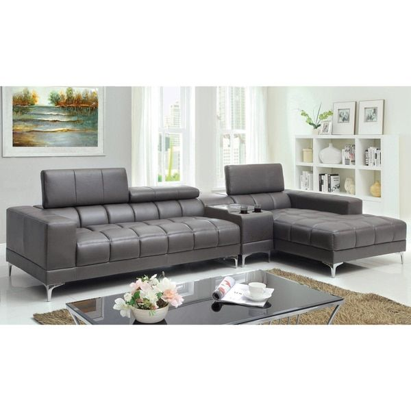 Overstock Com Online Shopping Bedding Furniture Electronics Jewelry Clothing More Sectional Sofa With Chaise Sectional Sofa Furniture Of America
