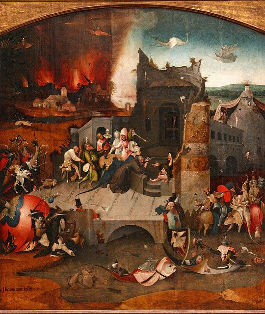 Hieronymus Bosch, Temptations of Saint Anthony | by f_snarfel