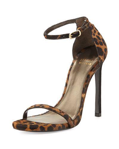 e26e79f8d94 Stuart Weitzman Nudist Ankle-Strap Sandal