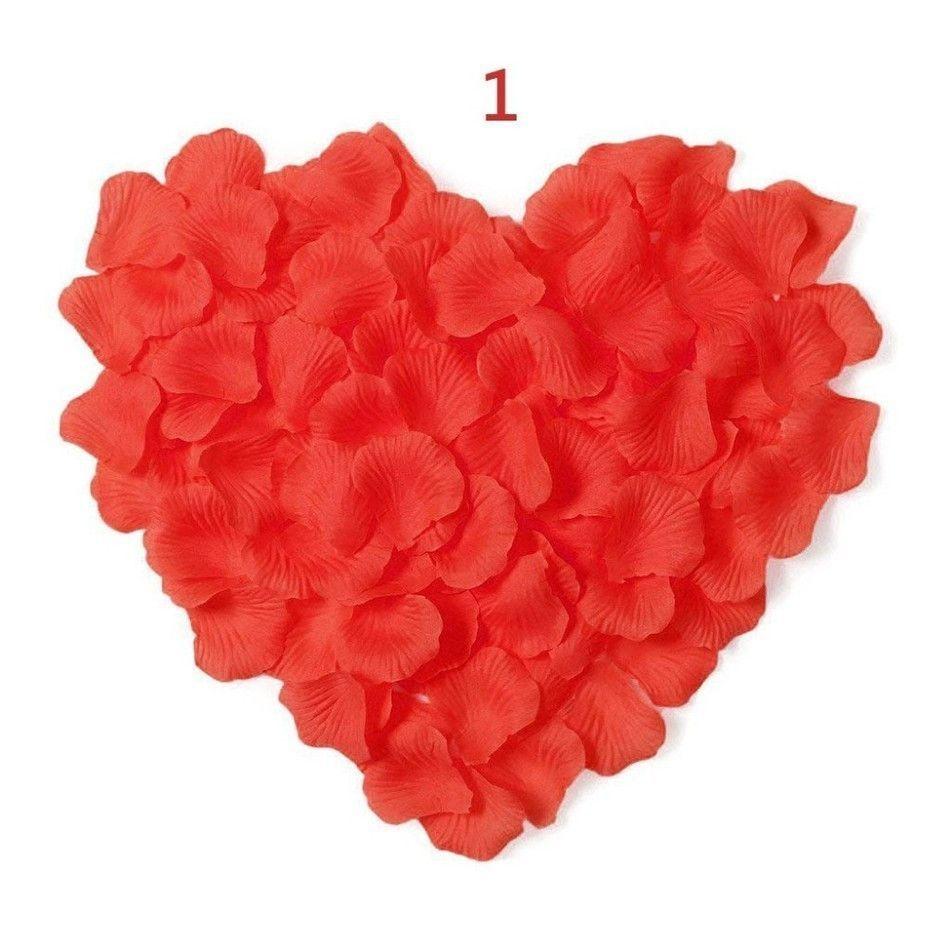 Wedding decorations accessories  Donus Bridal Cheap Silk Rose Flower Petals  pcslots wedding