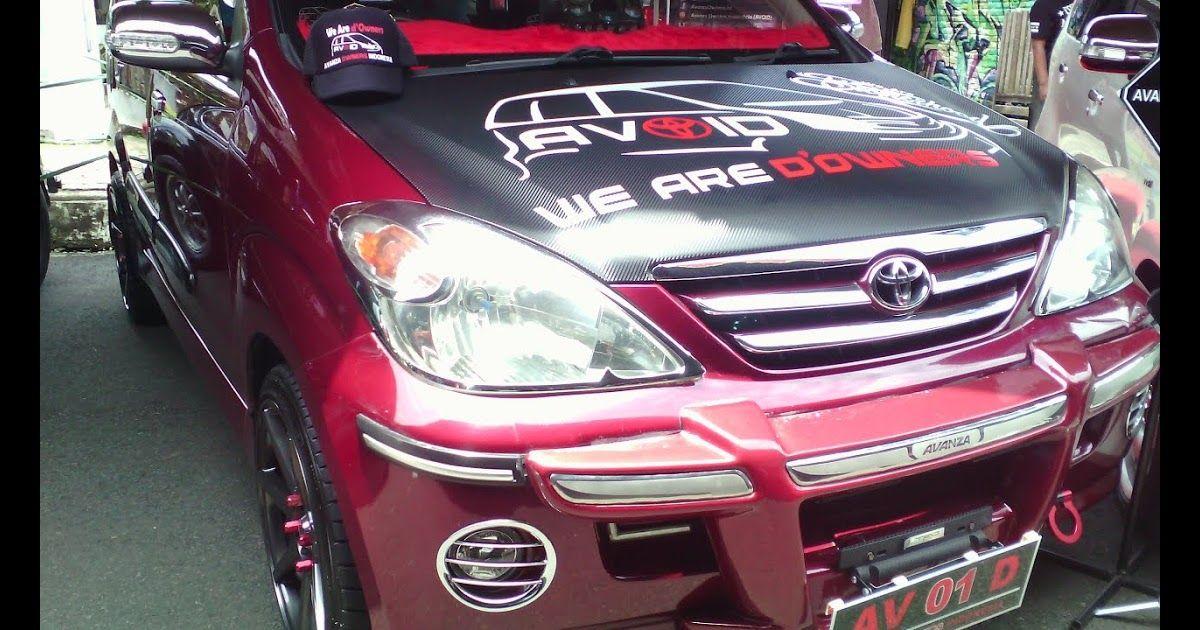 Gambar Mobil Avanza Warna Merah Maroon Gambar Modifikasi Toyota Avanza Warna Merah Terlengkap Modifikasi Download Download Modifikasi Mobil Mobil Toyota
