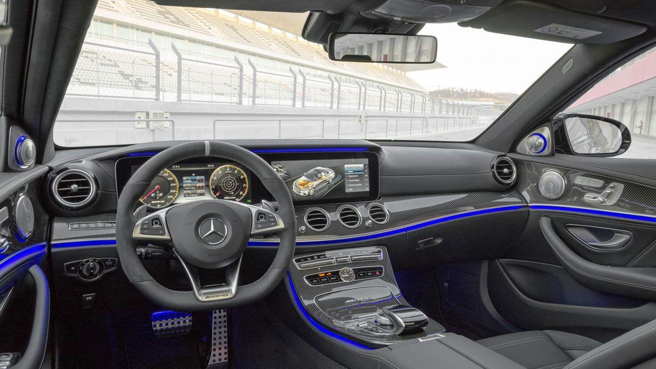 New Mercedes E63