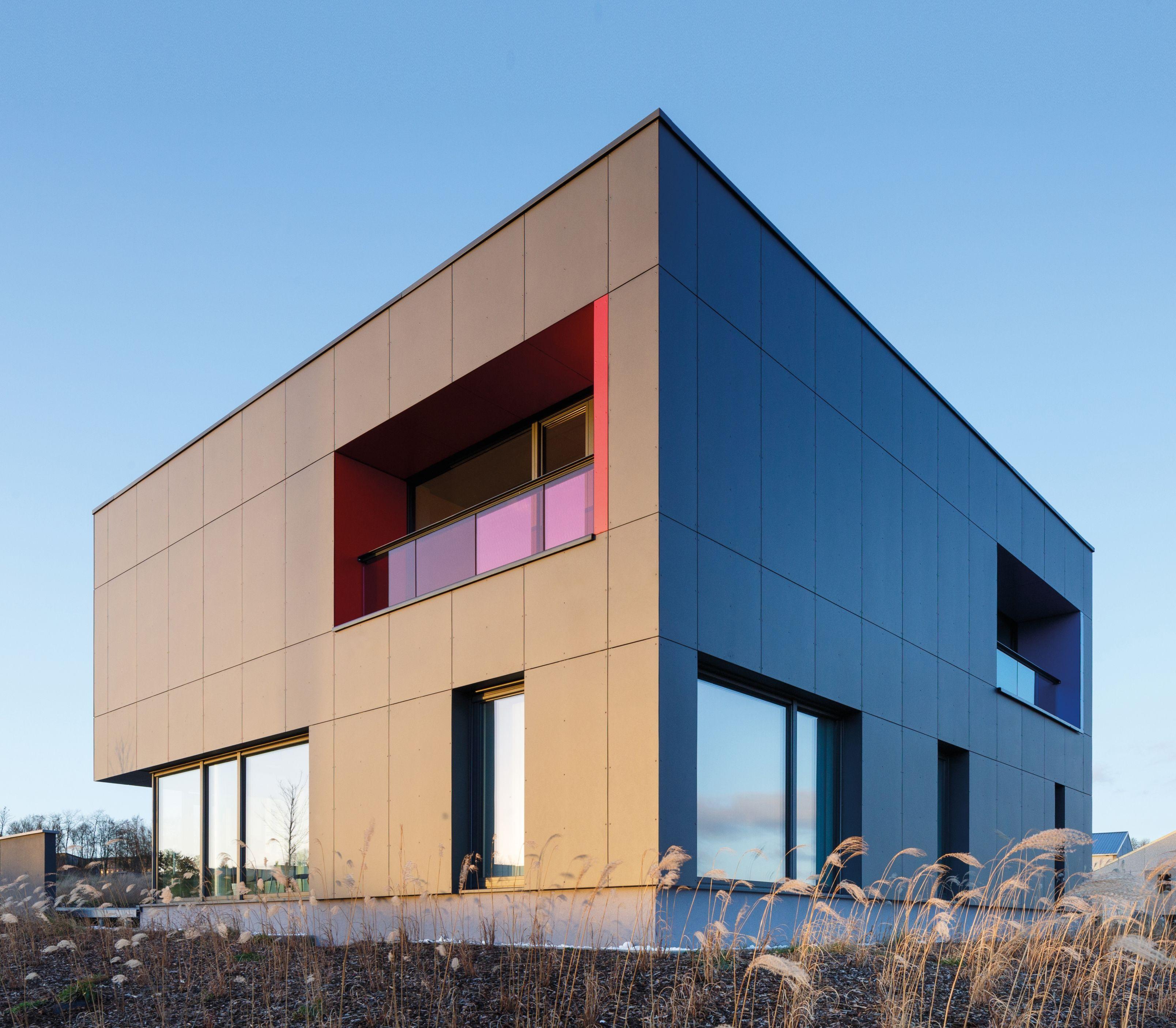 EQUITONE facade materials. Medical centre in Ciney (B) #architecture #material #facade