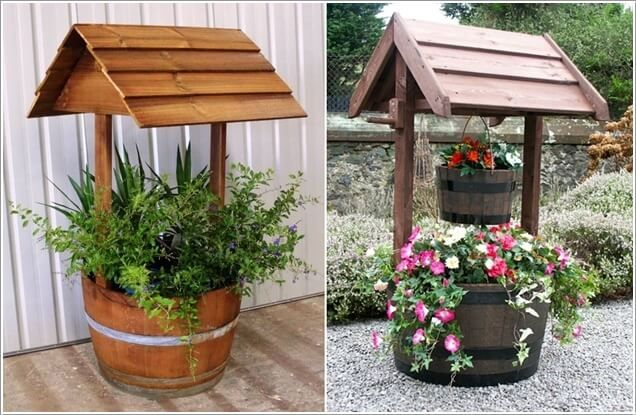 10 Creative Garden Wishing Well Ideas