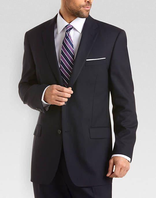 Joseph & Feiss Gold Two Pants Classic Fit Suit,Navy - Men ...