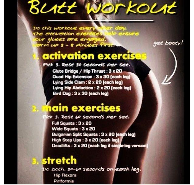 The butt workout