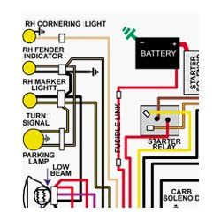 1969 ford falcon color wiring diagram fordfalconparts net parts