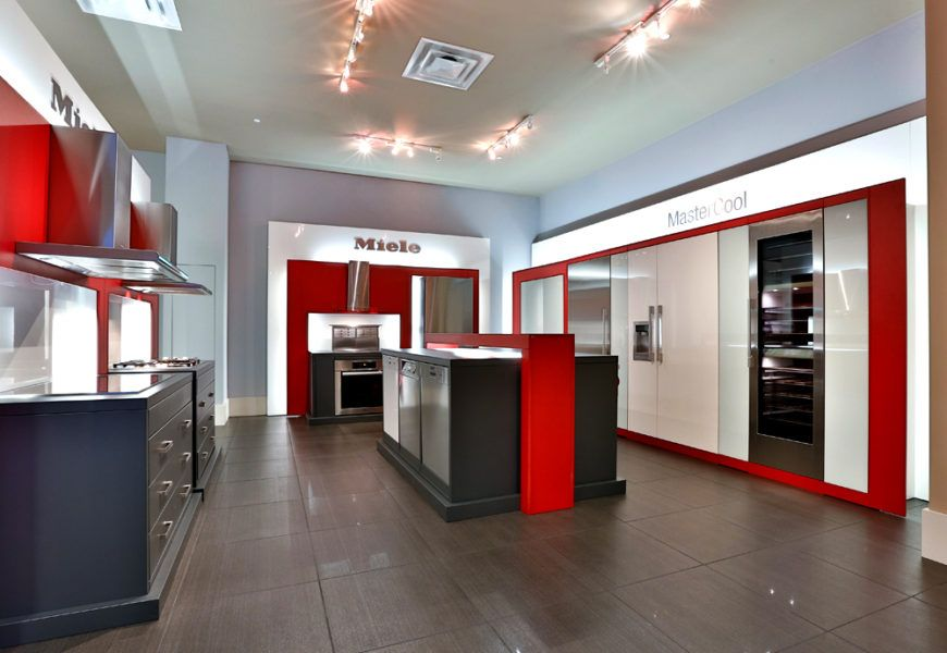 Kitchen Appliance Showroom | Showroom, Kitchens and Laundry rooms