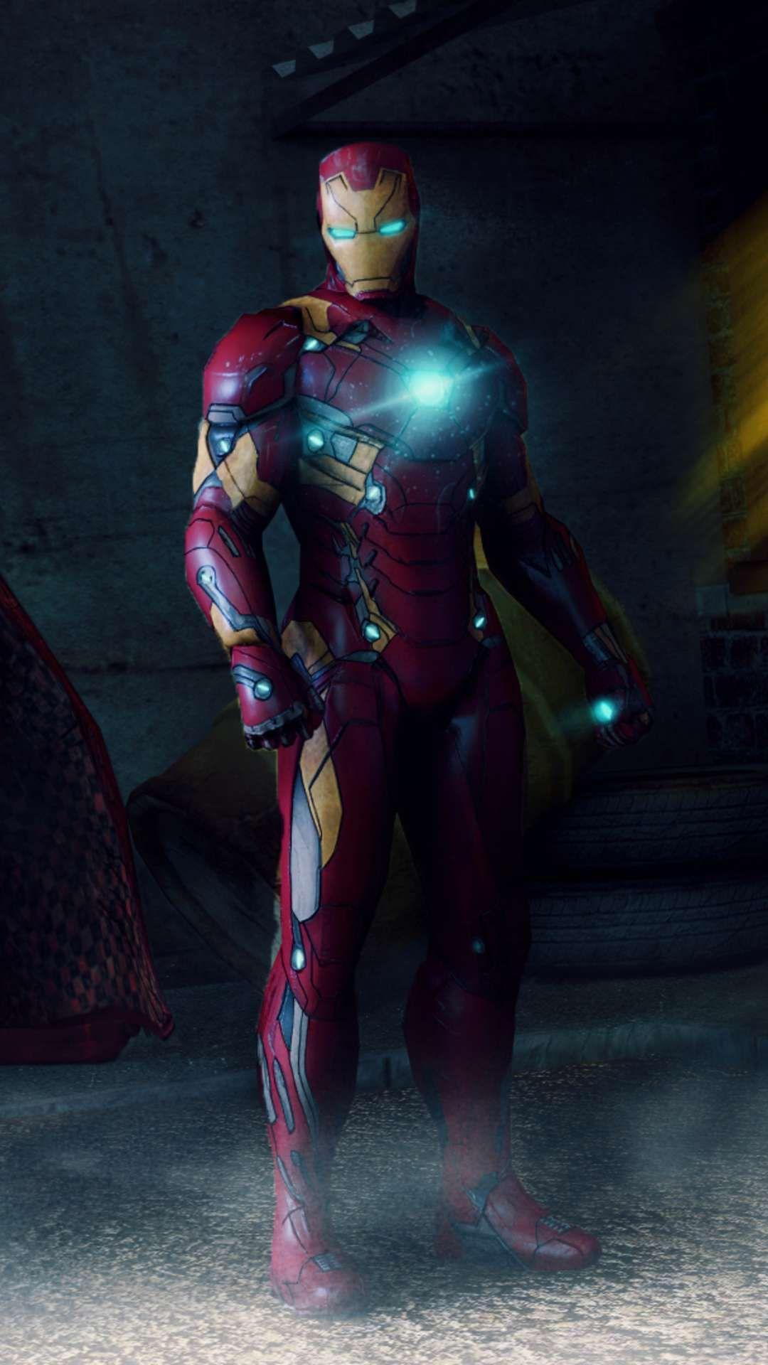 Iron Man Mark 46 IPhone Wallpaper Marvel iron man, Iron
