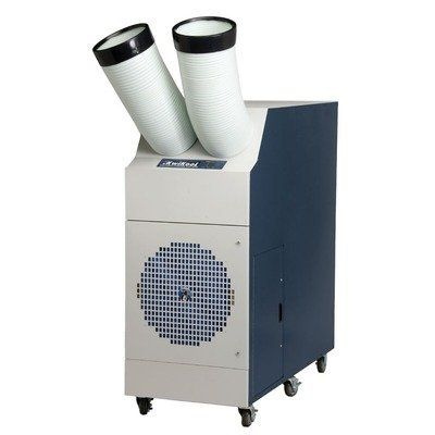 Iceberg Series 60,000 BTU Portable Air Conditioner Mounting Type: With Ceiling Mounting Kit by KwiKool. $8321.99. KIB6021 with CK-60 Mounting Type: With Ceiling Mounting Kit Ideal solution for cooling a 10''x10'' server room closet with up to 35 small servers for quick easy installation or a 2,000 square ft. space. Plugs into a dedicated 230-volt/20-amp circuit. Features: -Iceberg collection. -Air conditioner. -Color finish: White/blue. -Plug and play. -Available ...