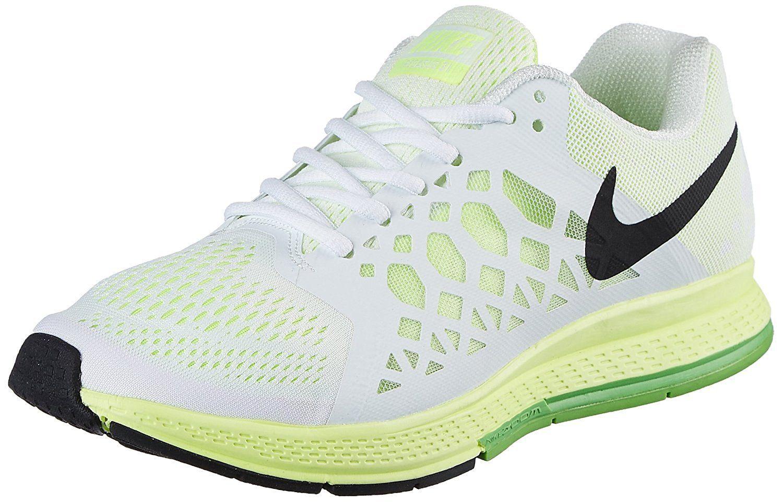 ffe9f0b23 Nike Zoom31 Men's Sport Shoes (8.5UK / 9.5US, WHITE/GREEN): Buy ...