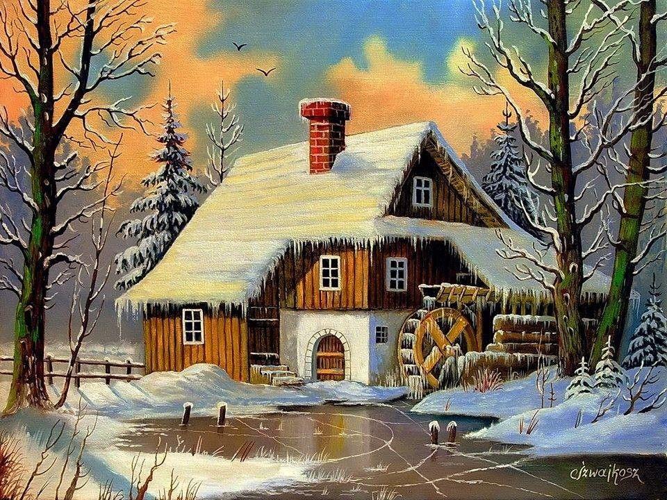 Картинки, дом открытки