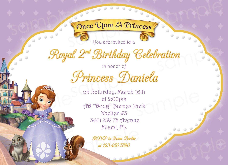 Princess sofia birthday invitations ideas bagvania invitations princess sofia birthday invitations ideas bagvania invitations ideas stopboris Gallery