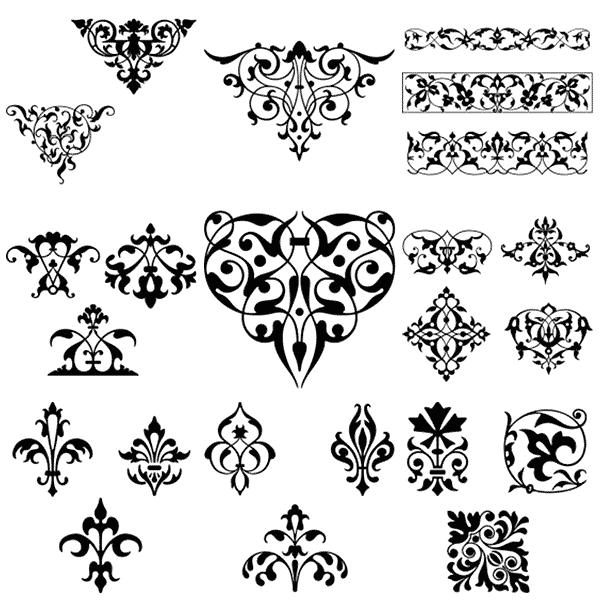 Gorgeous Free Vintage Frames Borders Ornaments Ii Vintage Frames Vintage Borders Tattoo Pattern