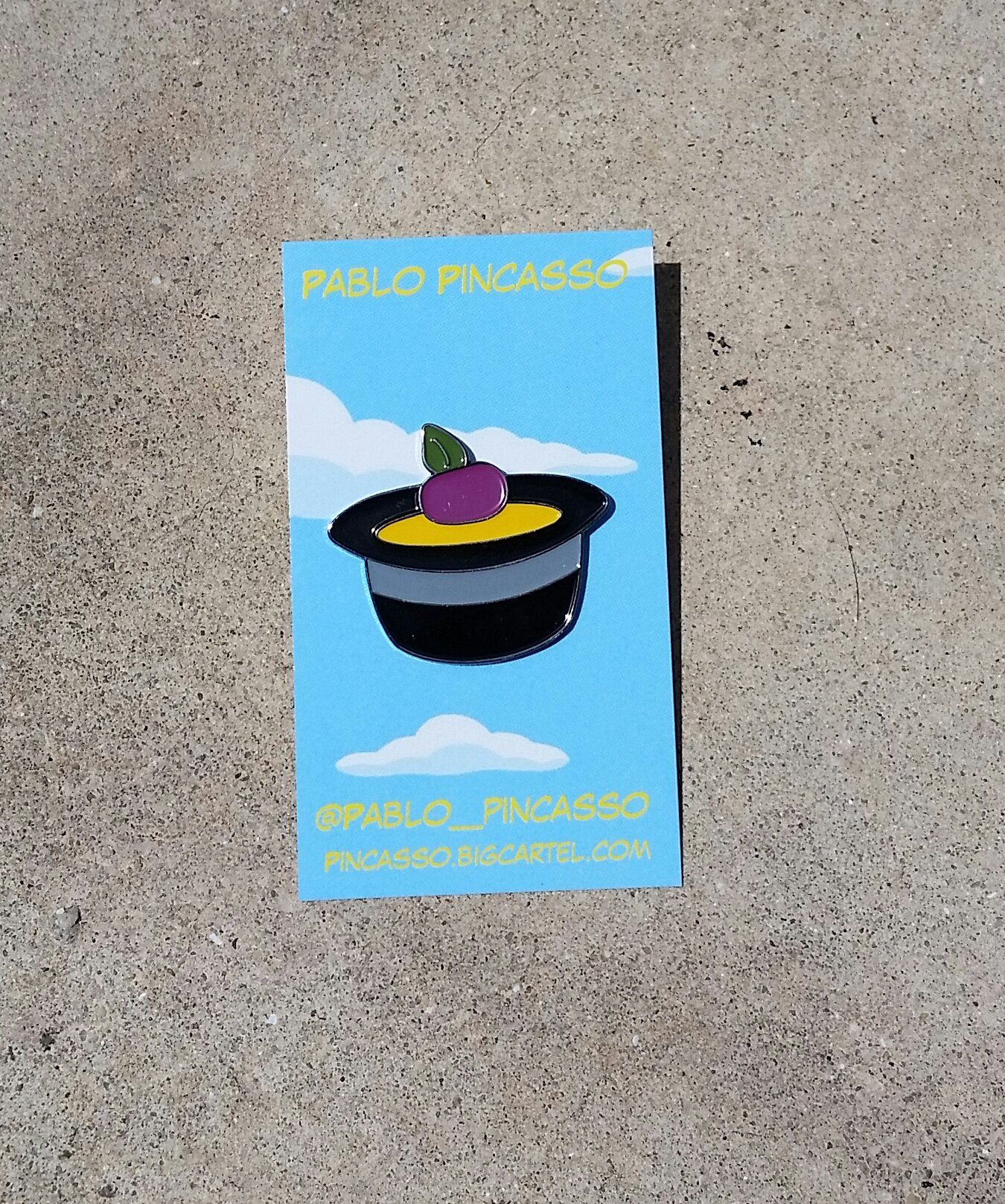 47dc8305cea Image of Single plum floating in perfume served in a man s hat