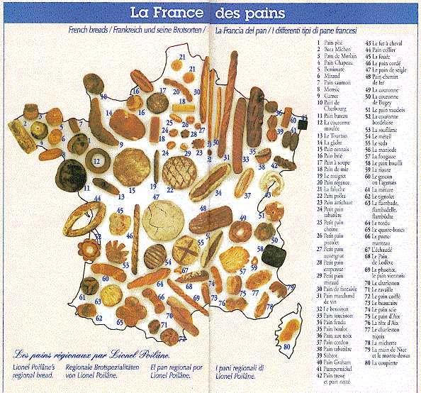 Pieczywo we Francji - słownictwo 5 - Francuski przy kawie