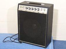 Vintage 1970 S Univox 1 12 Combo Amplifier U65rn Reverb Amp Tested Shin Ei Ready Vintage Guitar Amps Vintage Guitars Blue Sparkles